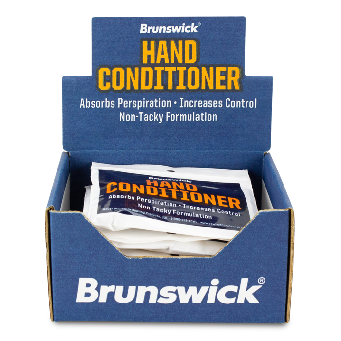 Brunswick Hand Conditioner use on hands absorbs moisture 3 pack