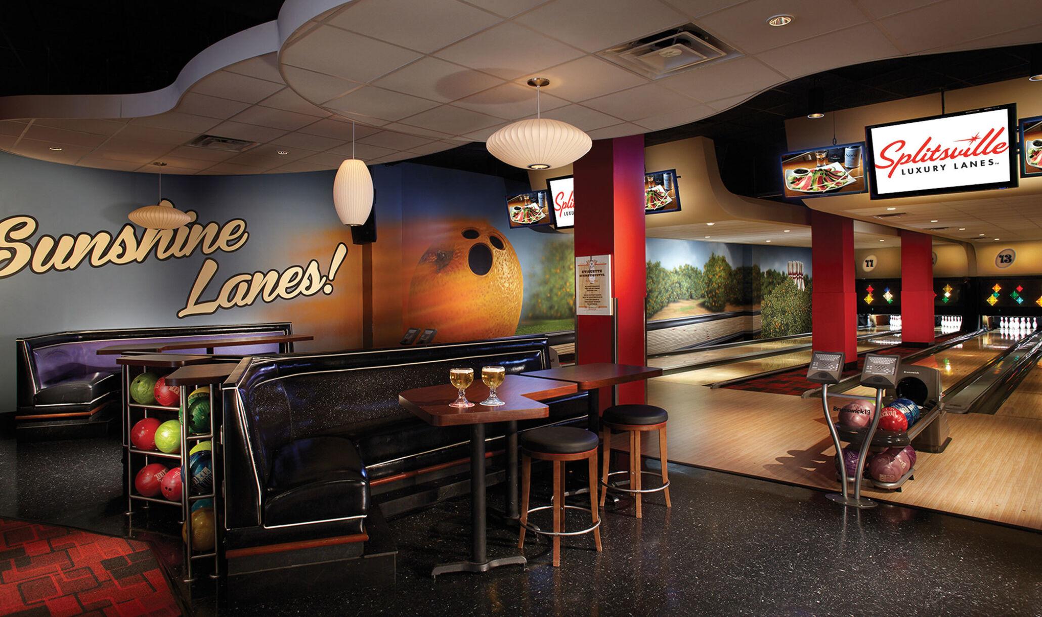 Splitsville Luxury Lanes Brunswick Bowling