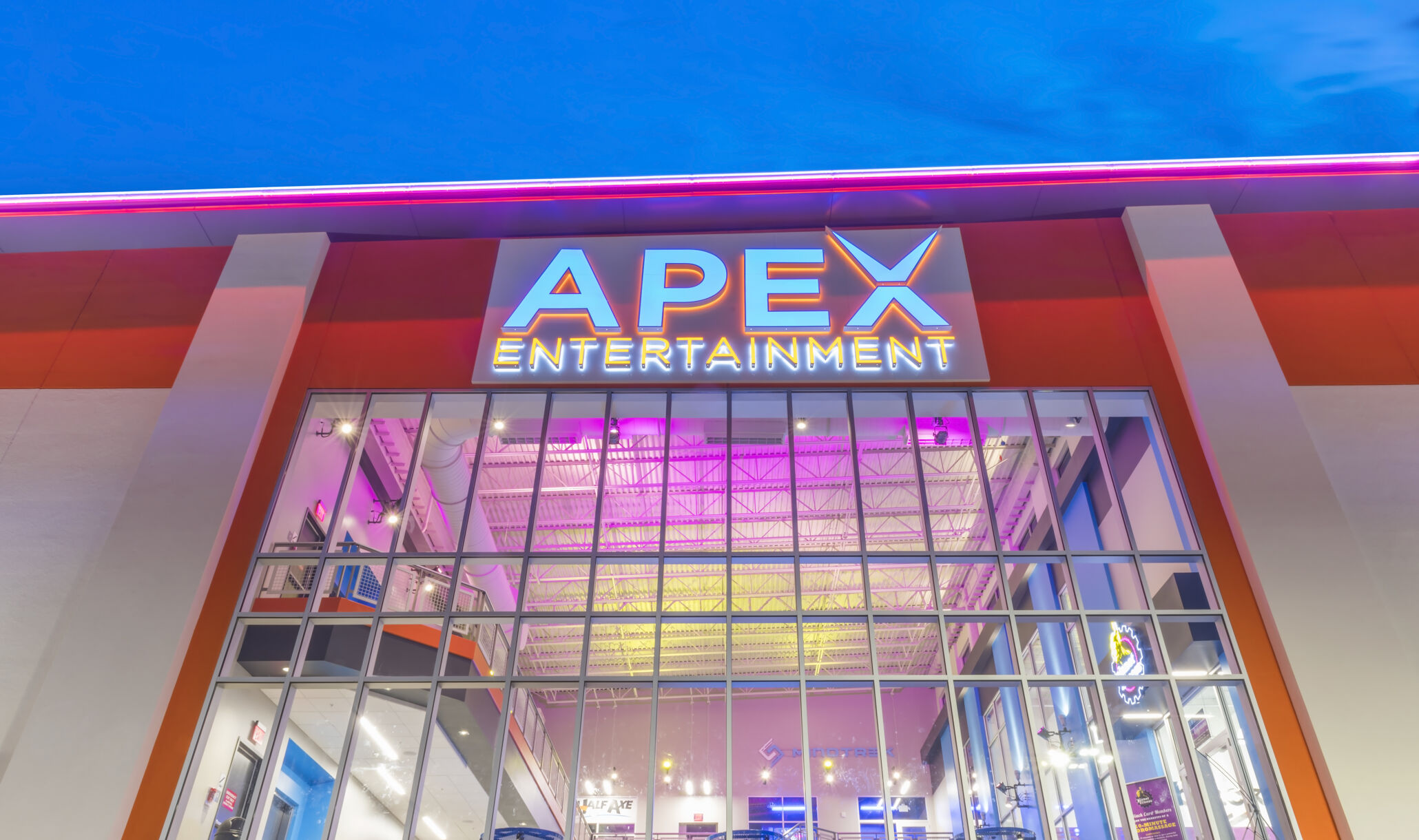 Exterior of Apex Entertainment Marlborough-1