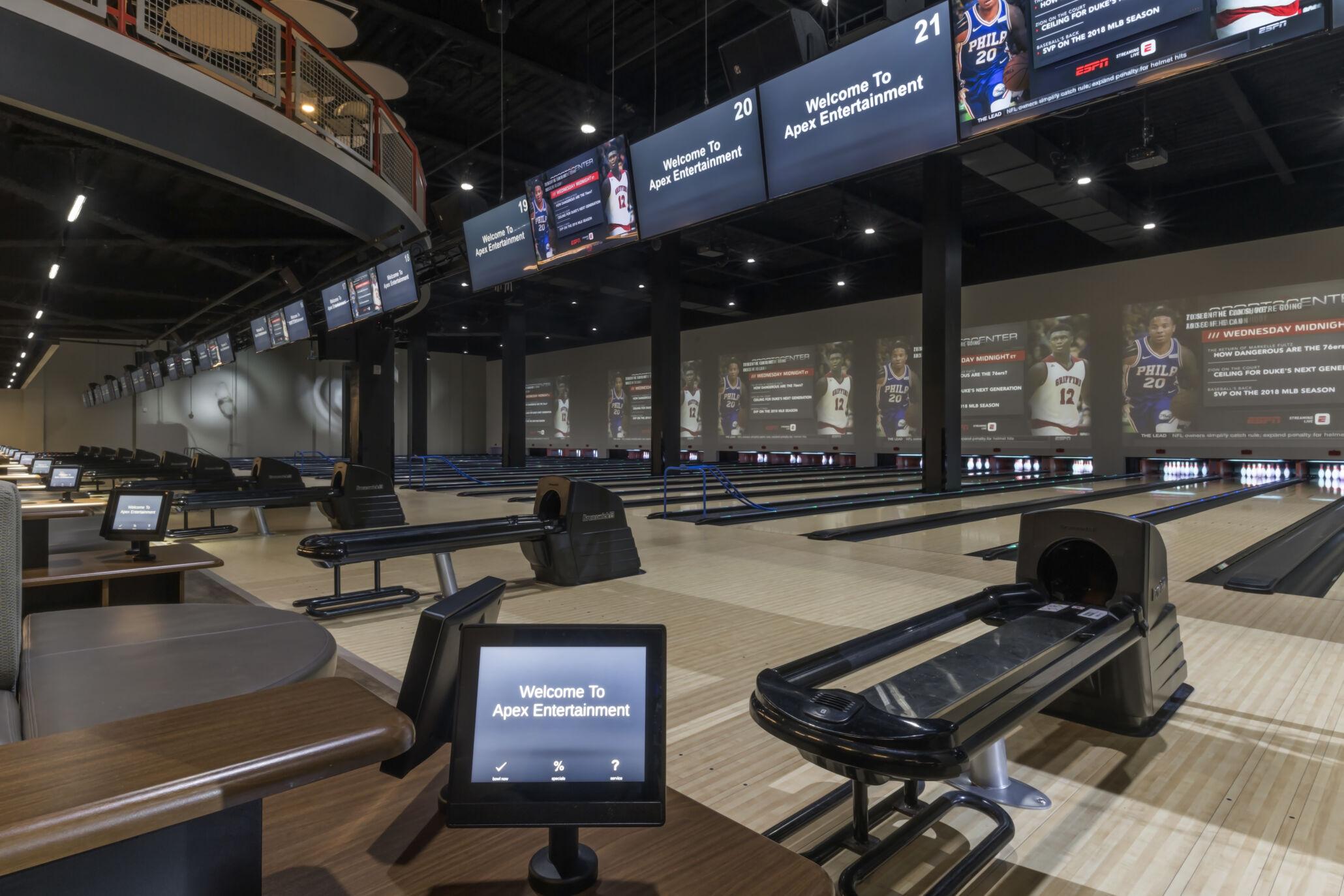 Apex Entertainment Brunswick Bowling