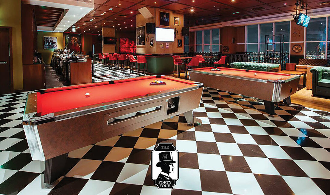 Billiards at Level44 Dubai Al Habtoor-3