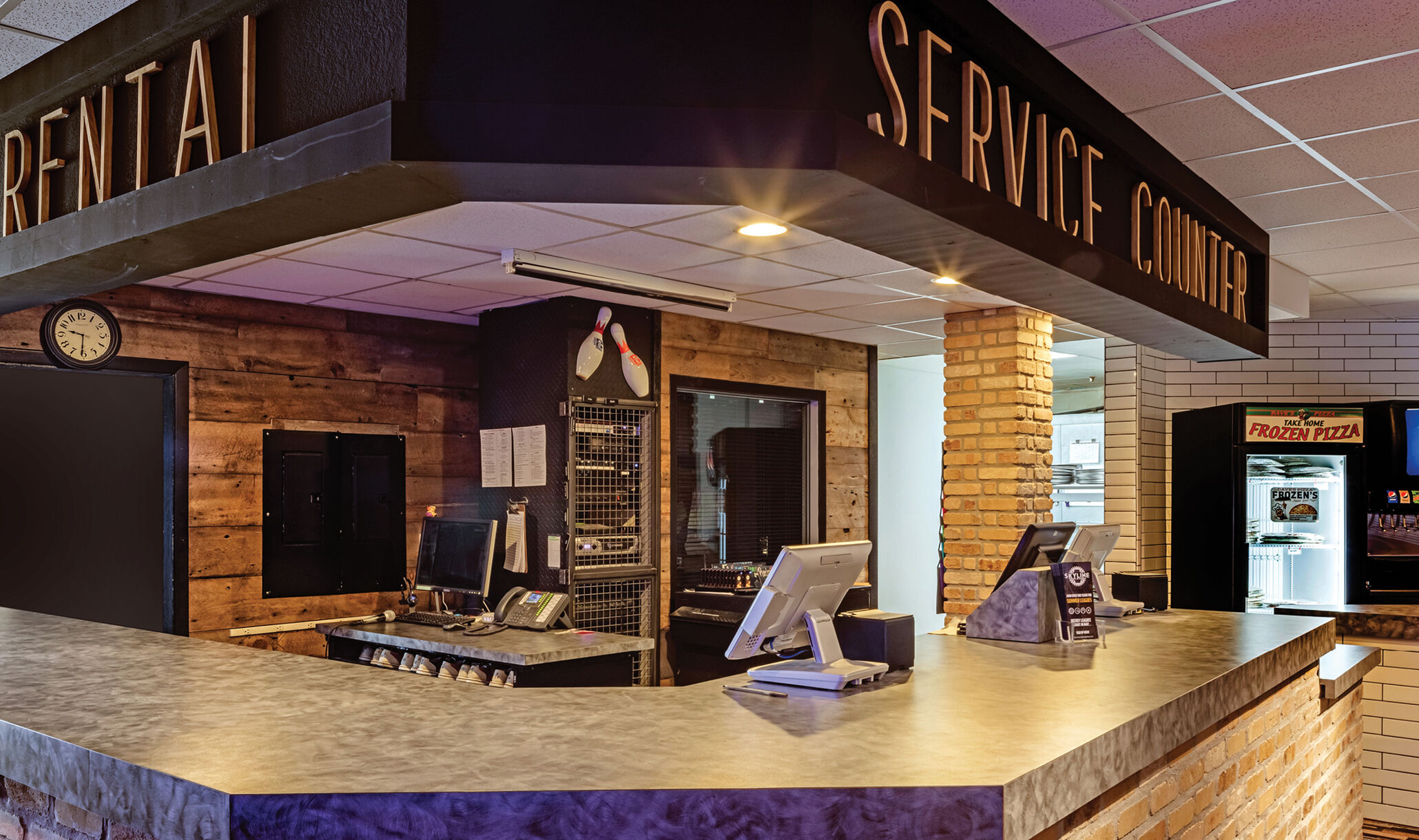 Skyline Social, Hermantown, MN - Service Counter-1