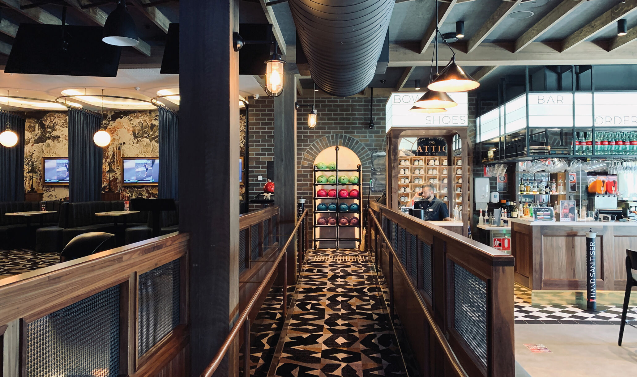 The Attic Sydney Australia - Bowling & Bar-1