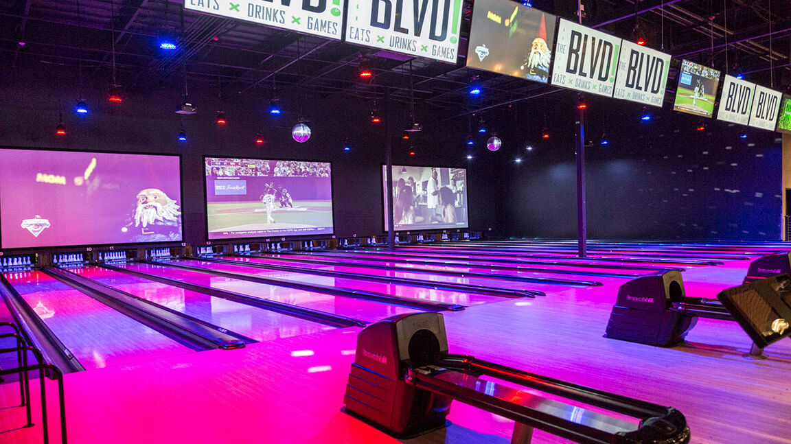 The Blvd Brunswick Bowling