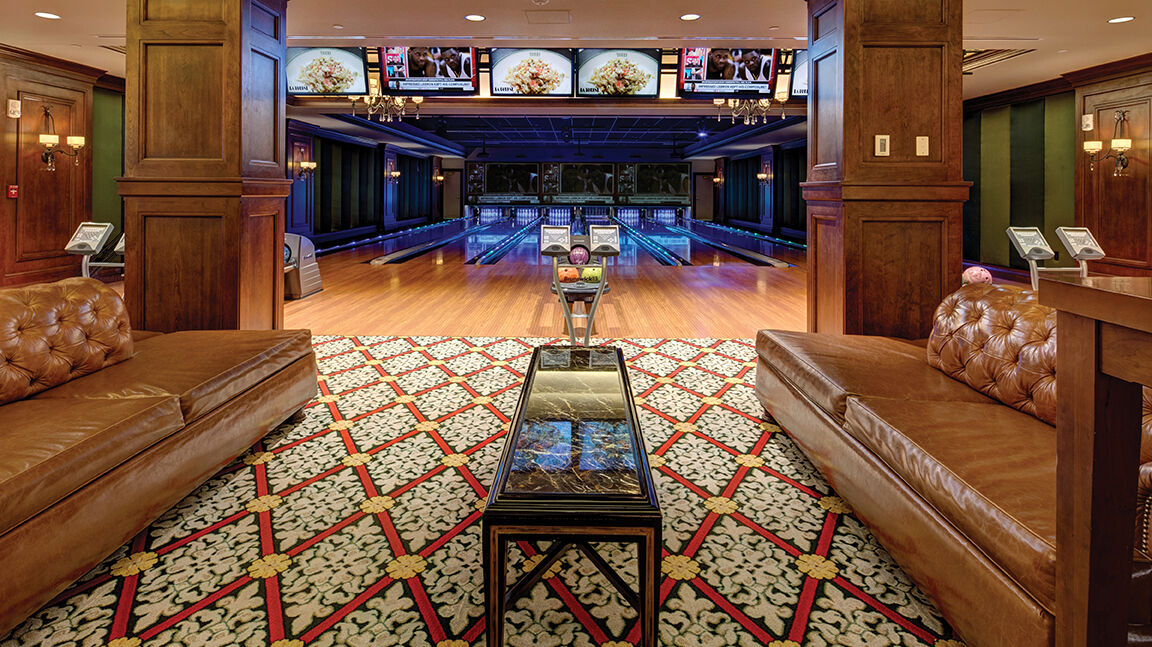 The Broadmoor Brunswick Bowling