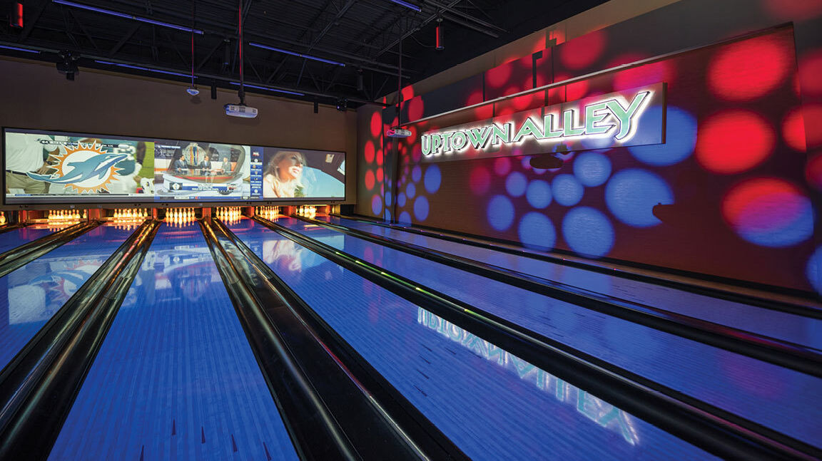 Uptown Alley Brunswick Bowling