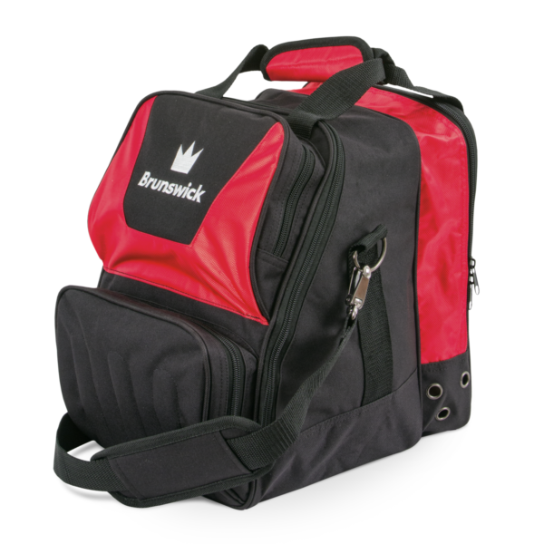 59 Bs1400 003 Crown Single Tote Red 3Qrtr 1600X1600