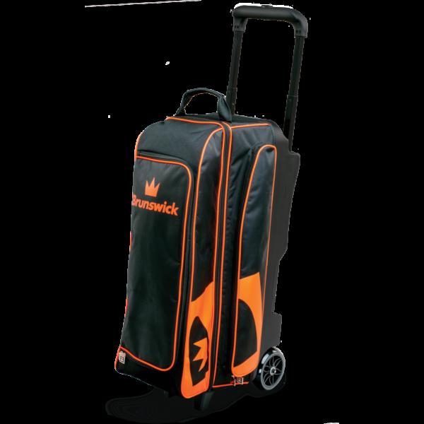 Blitz Triple Roller in Black and Orange