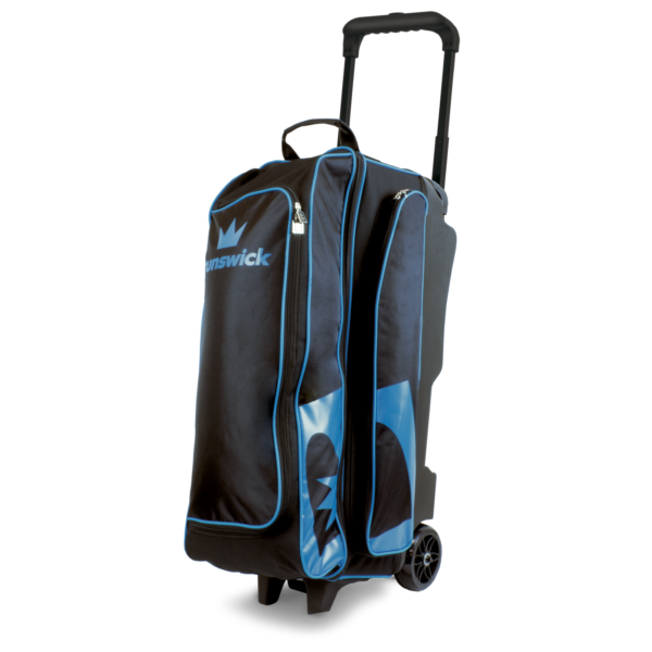 Blitz Triple Roller in Black and Blue