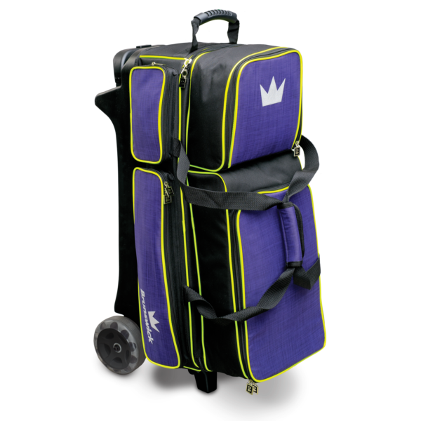 Crown Deluxe Triple Roller in Purple and Yellow