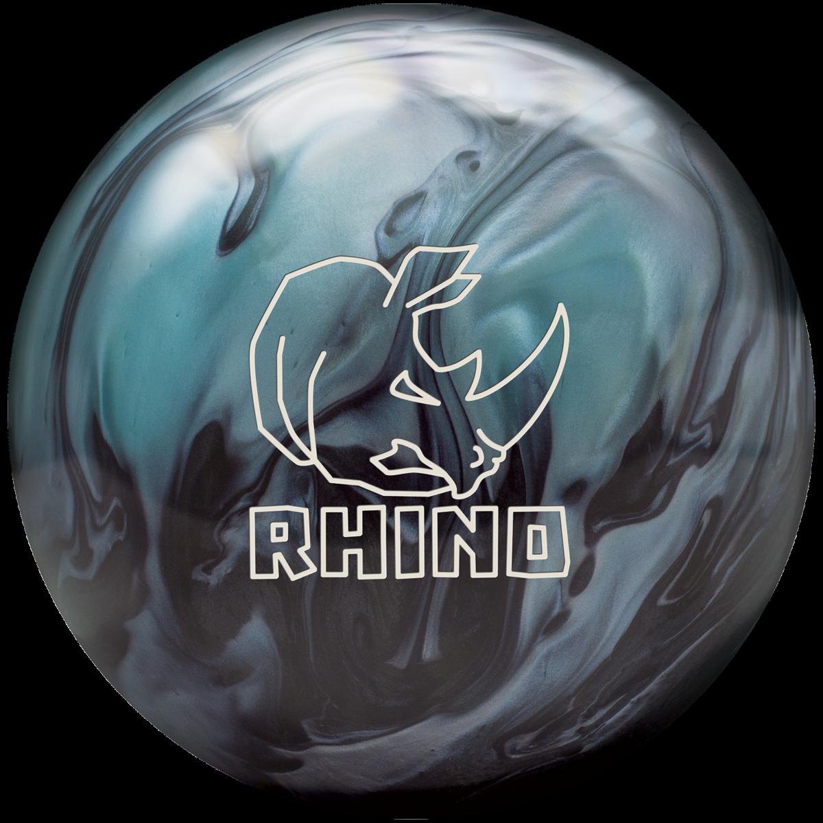 Brunswick Rhino Cobalt//Aqua//Teal Bowling Ball