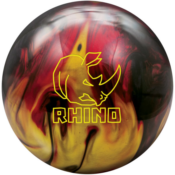 Rhino Red Black Gold Pearl Ball