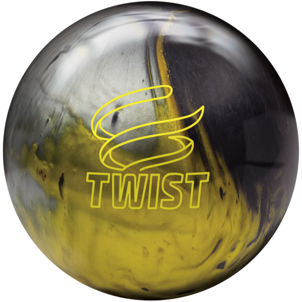 Twist Black Gold Silver Ball