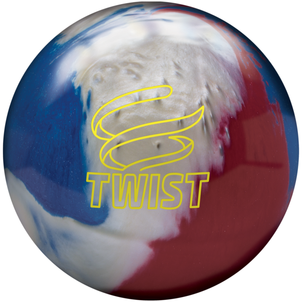 Twist Red White Blue Ball