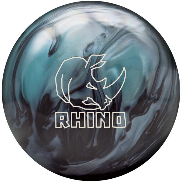 Rhino Metallic Blue Black Ball