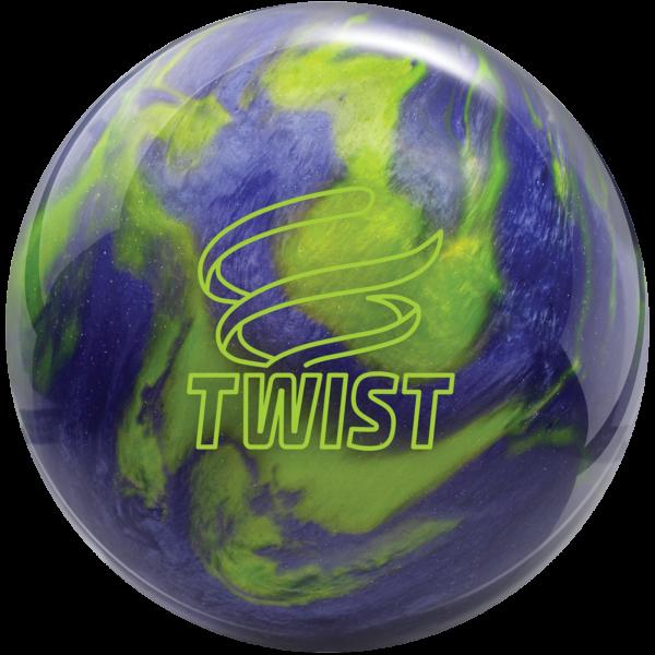 Twist Lavender Lime bowling ball