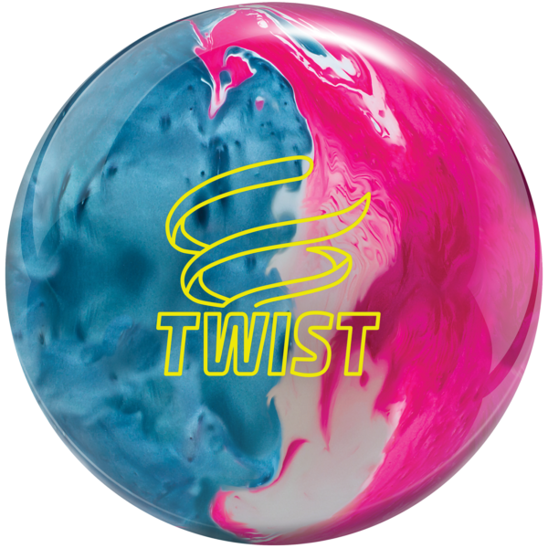 Twist Sky Blue Pink Snow bowling ball
