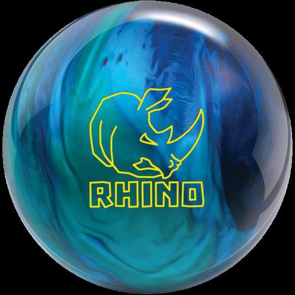 Rhino Cobalt Aqua Teal bowling ball