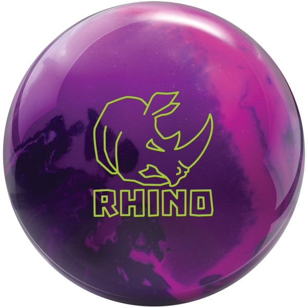 Rhino Magenta Purple Navy bowling ball