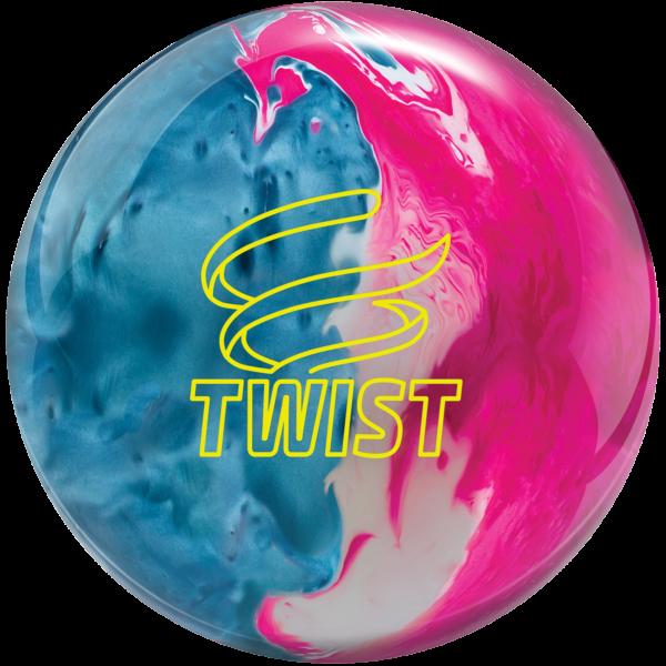 Twist Sky Blue Pink Snow bowling ball