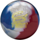 Twist Red White Blue Ball, for Twist™ - Red / White / Blue (thumbnail 1)