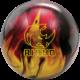Rhino Red Black Gold bowling ball, for Rhino™ - Red / Black / Gold Pearl (thumbnail 1)