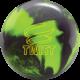 Twist Neon Green Black bowling ball, for Twist™ - Neon Green / Black (thumbnail 1)