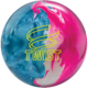 Twist Sky Blue Pink Snow bowling ball, for Twist™ - Sky Blue / Pink / Snow (thumbnail 1)