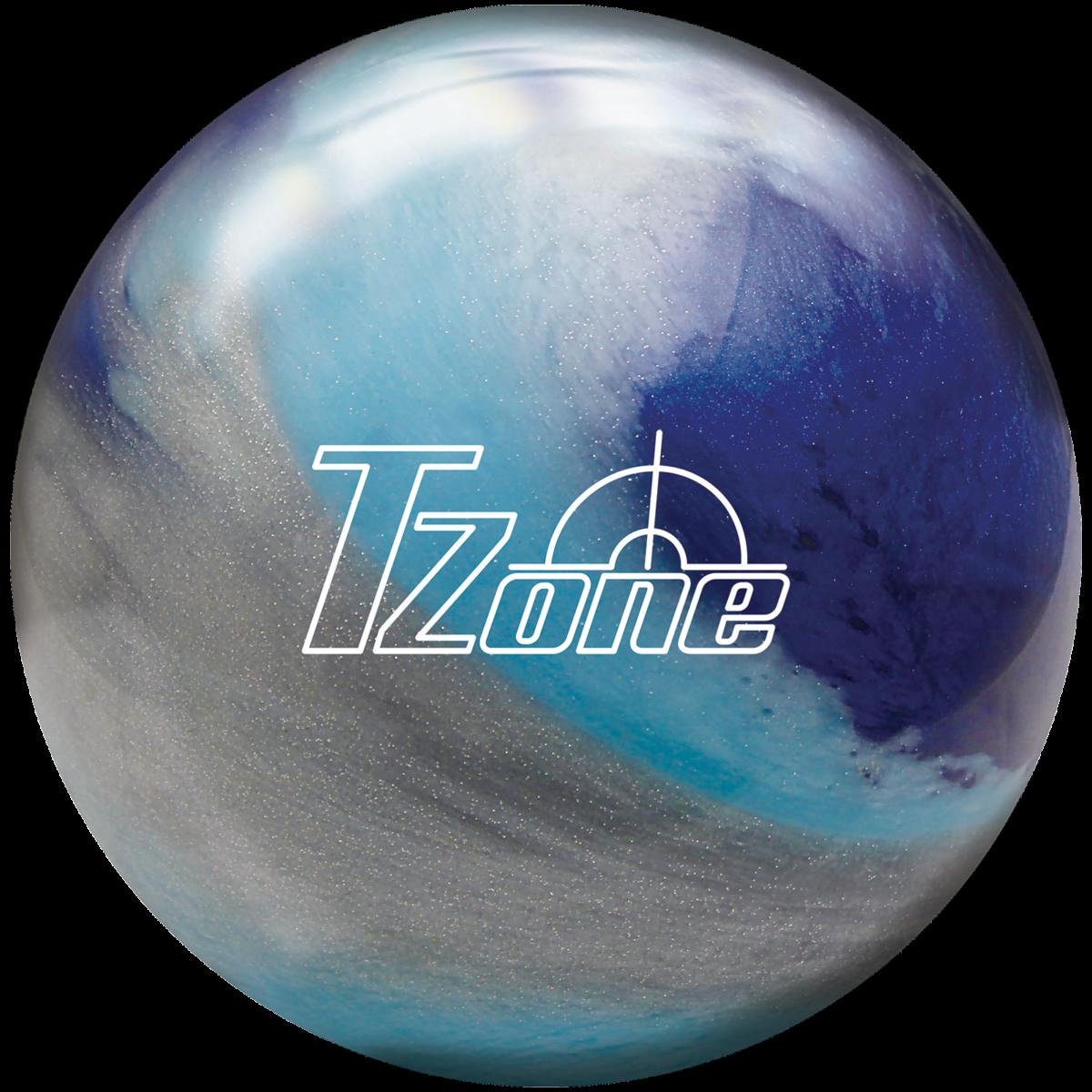 Brunswick T-Zone Frozen Bliss Boule de bowling Rose//bleu glac/é//blanc