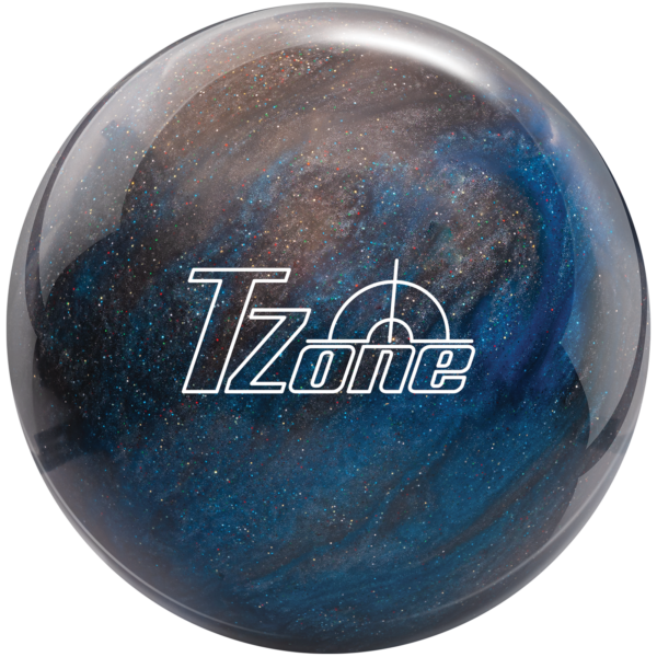 T Zone Galactic Sparkle bowling ball