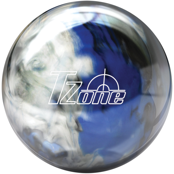 TZone Indigo Swirl bowling ball
