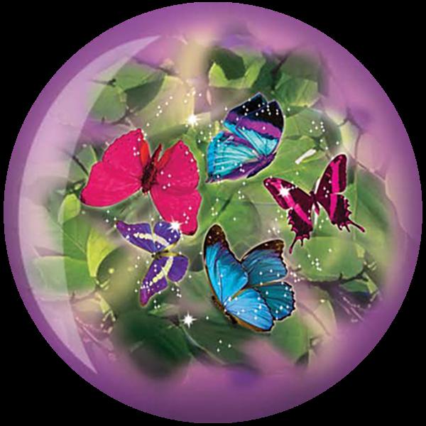 Front of Butterflies Viz-A-Ball