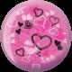 Back of Hearts Viz-A-Ball, for Hearts (thumbnail 2)