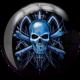 Front side of Skull Viz-A-Ball, for Skull (thumbnail 1)