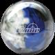 TZone Indigo Swirl bowling ball, for TZone™ Indigo Swirl (thumbnail 1)