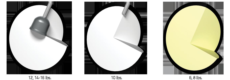 Visual comparison of Viz-A-Ball Cores