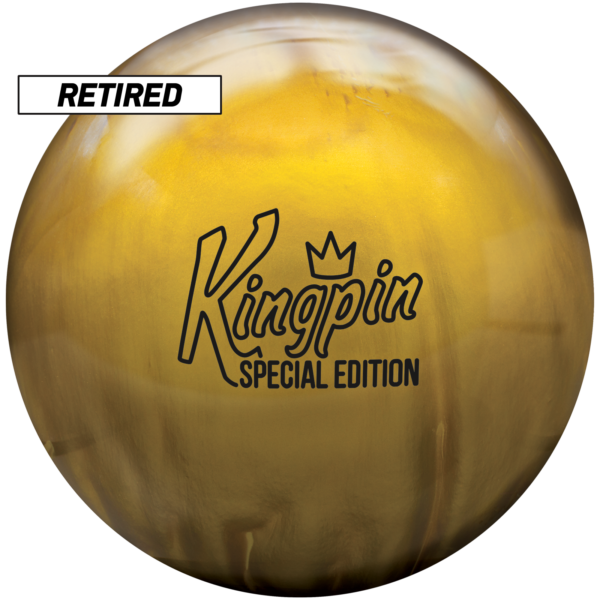 Retired Kingpin Gold Special Edition ball