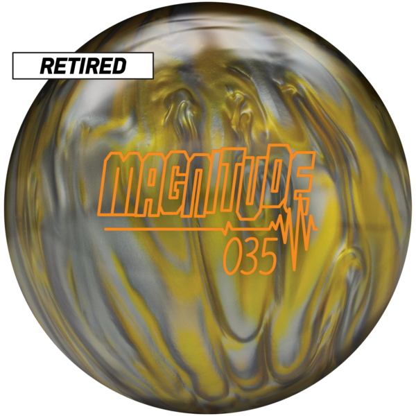 Retired Magnitude 035 Pearl ball