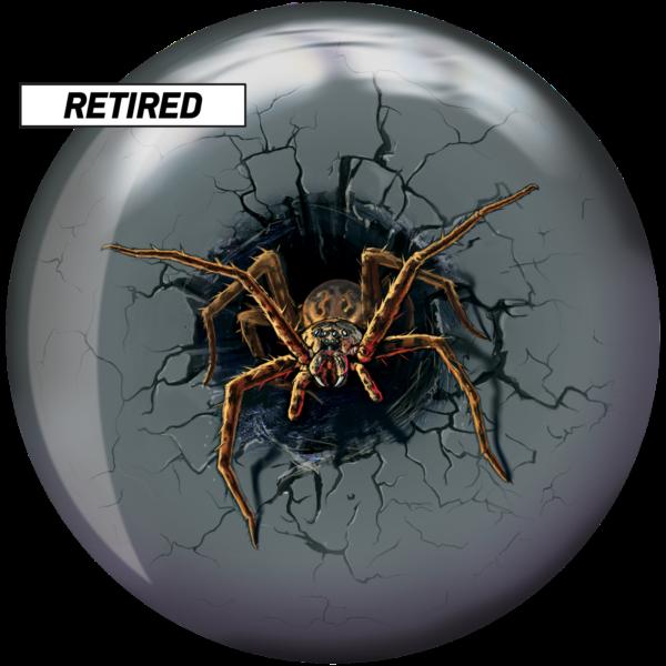 Retired Spider Viz-A-Ball front side