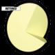 Retired Twist Core for 8 pound balls, for Twist™ - Neon Green / Black (thumbnail 4)