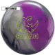 Retired rhino charcoal silver violet bowling ball, for Rhino™ - Charcoal / Silver / Violet (thumbnail 1)