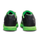 Heel view of the Black and Neon Green Renegade shoes, for Renegade - Black / Neon Green (thumbnail 4)