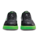 Toe view of the Black and Neon Green Renegade shoes, for Renegade - Black / Neon Green (thumbnail 3)