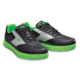 Pair of Black and Neon Green Renegade shoes facing right, for Renegade - Black / Neon Green (thumbnail 5)