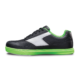 Inner side view of the Youth Black and Neon Green Renegade shoe, for Renegade - Black / Neon Green (thumbnail 2)