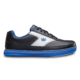 Side view of the Black and Royal Blue Renegade shoe, for Renegade - Black / Royal (thumbnail 1)