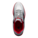 Top view of the Flash Silver and Red Renegade shoe, for Renegade - Flash Silver / Red (thumbnail 6)