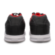 Heel view of the Black Red Renegade shoes, for Renegade - Black / Red (thumbnail 4)