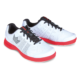 Pair of the White and Red Fuze shoes facing right, for Fuze - White / Red (thumbnail 2)