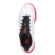 Top view of the White and Red Fuze shoe, for Fuze - White / Red (thumbnail 3)